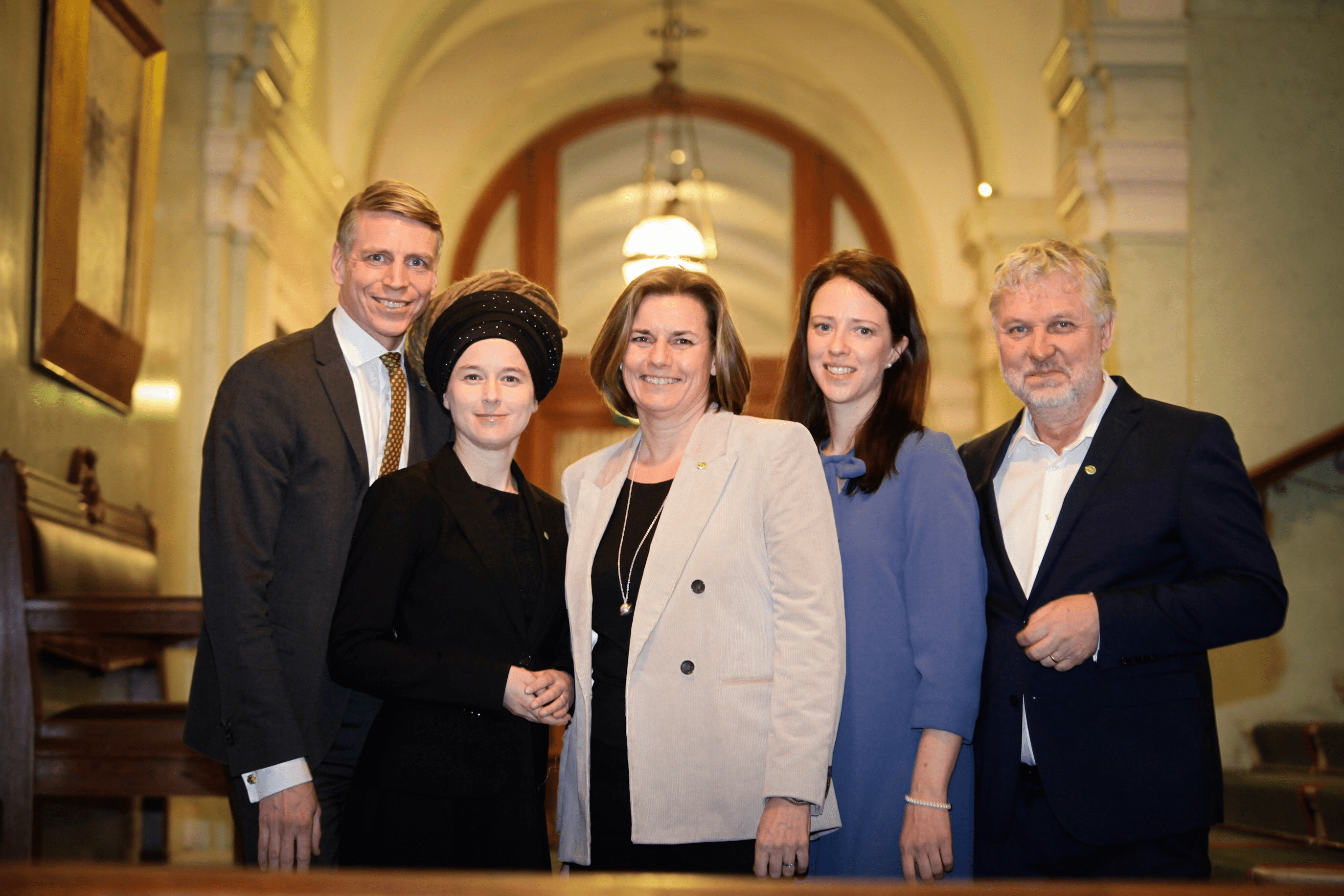 Amanda Lind five green ministers announced in new swedish government