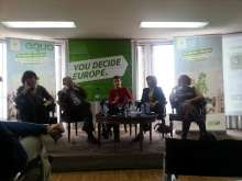 Green Primary debate Madrid