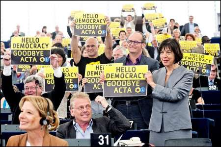 Hello democracy, Goodbye ACTA