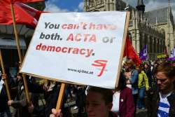 ACTA or democracy - your choice