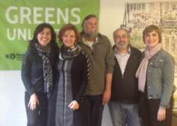 ©European Greens - EGP Committee members visiting Madrid Green's office