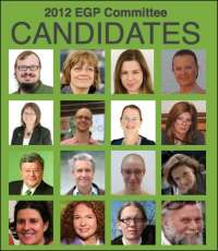 2012 EGP Committee candidates