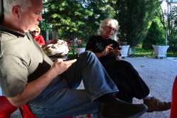 Canada and France side by side