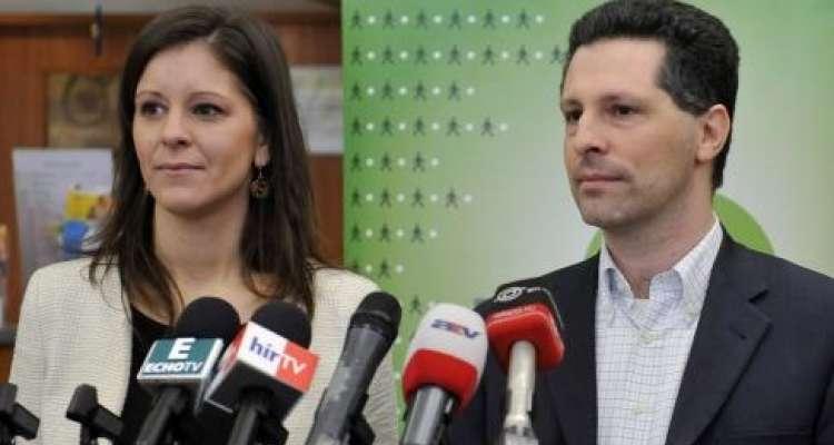 Bernadett Szél and András Schiffer, new co-presidents of LMP