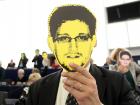 Whistleblower protest in European Parliament