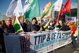 CETA protest