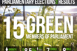 Success: 15 Green MPs in the new Finnish parliament