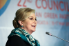 Croatian President Kolinda Grabar–Kitarović addressing the 22nd EGP Council