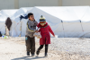 Children in refugee camp