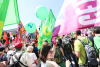 Greens protest in Munich ahead of the G7 meeting