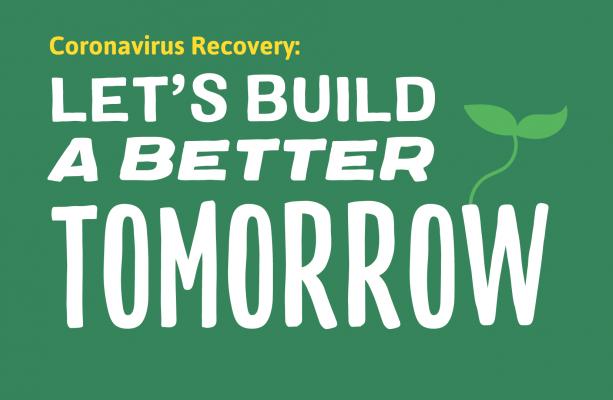 Beste Coronavirus Recovery: Let's build a better tomorrow! | European Greens JO-51