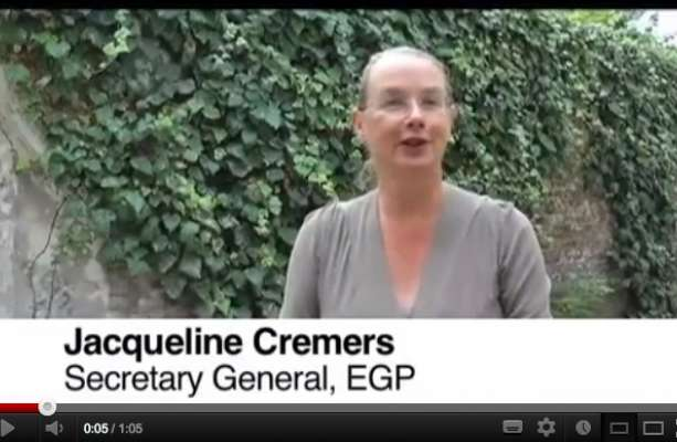 Jacqueline Cremers invites everyone to the EGP  council in Athens