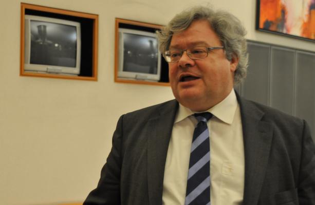 EGP co-chair Reinhard Bütikofer